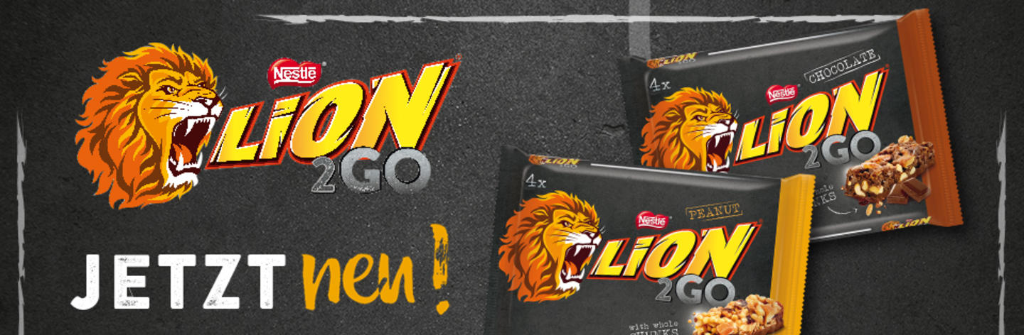 <strong>JETZT NEU: LION<sup>®</sup> 2GO – Go for it!</strong>